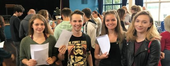 Students getting great exam results at Thirsk School